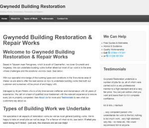 Gwynedd Building Restoration