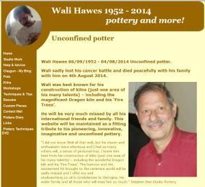 Wali Hawes Pottery