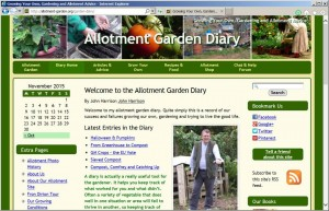 Allotment Garden Diary